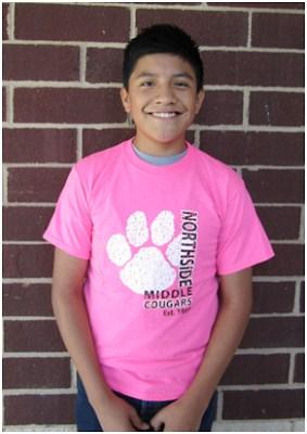 Cougar Pink T-shirt