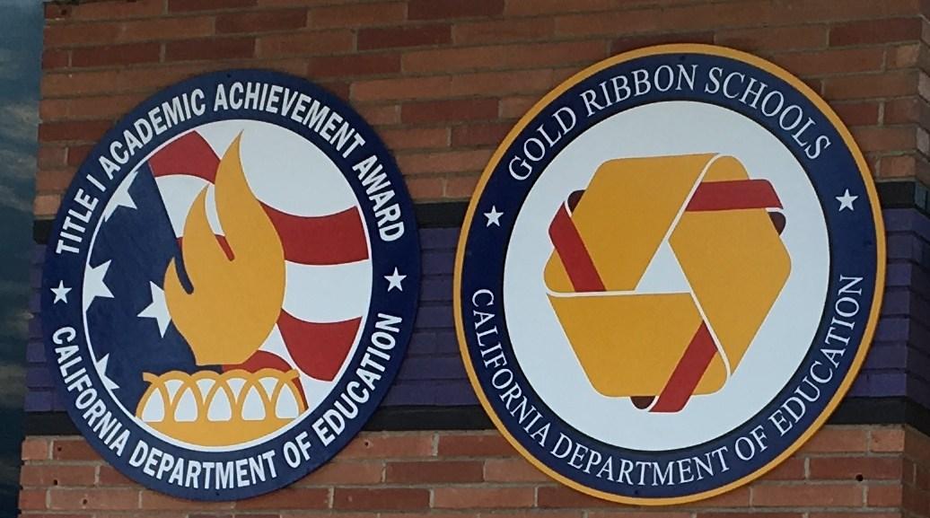 Title 1 Academic Achievement Award and Gold Ribbon Schools Award
