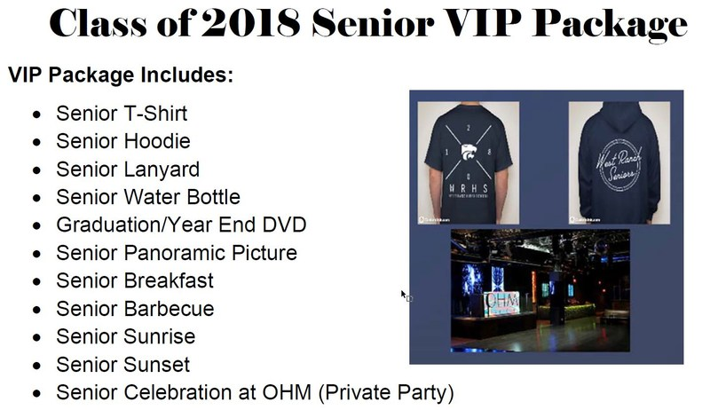 VIp Package Picture