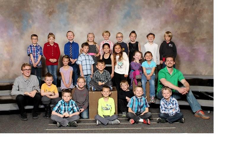 1st grade class photo.