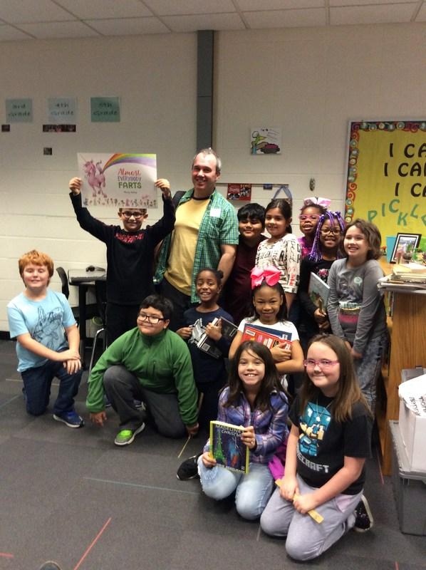 Author Visit @ Northwest School Thumbnail Image