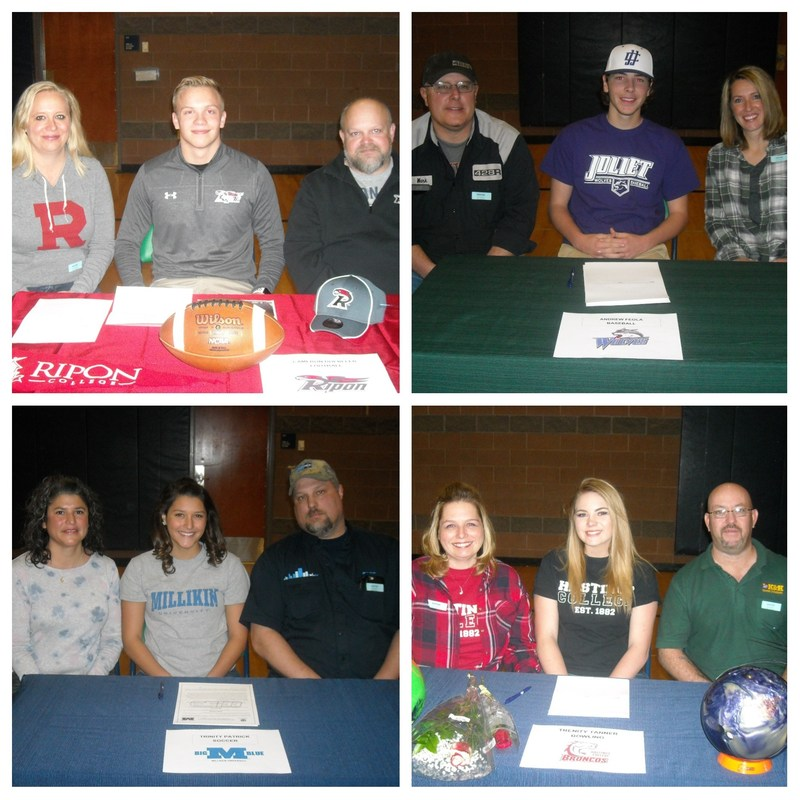 College Signing day at The Academy! Thumbnail Image