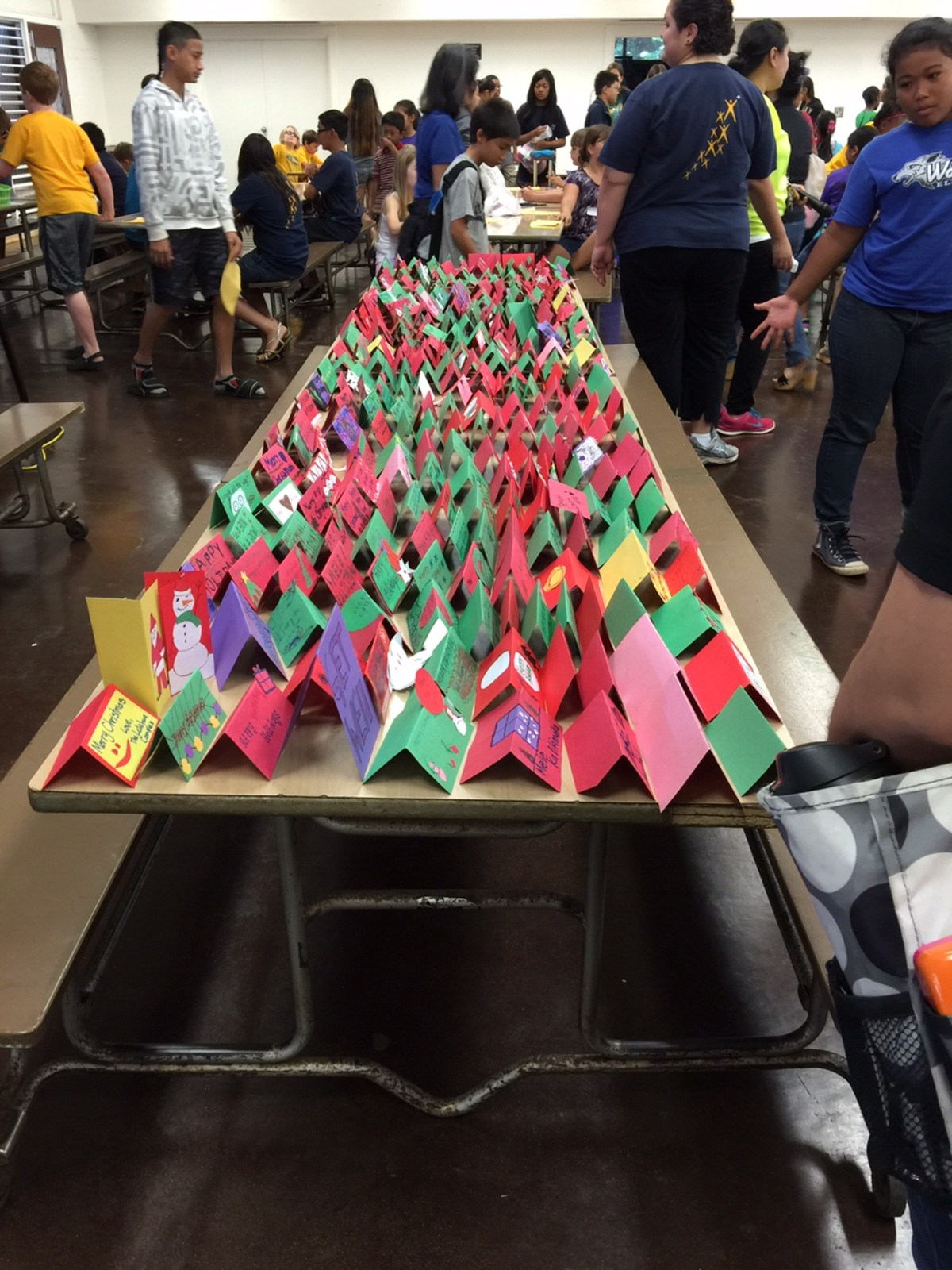 Holiday table tents