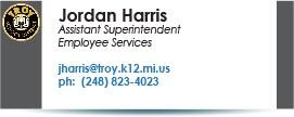Jordan Harris, jharris@troy.k12.mi.us.