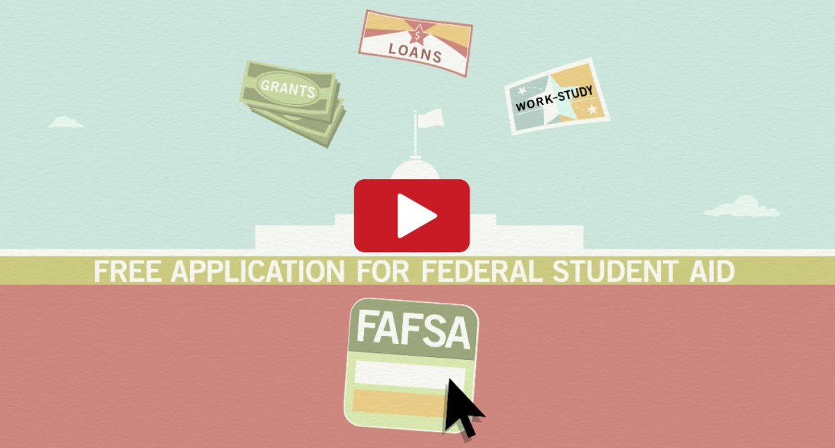 Image of YouTube video about FAFSA