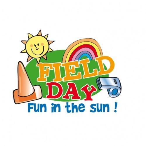 Field Day fun in the sun clip art