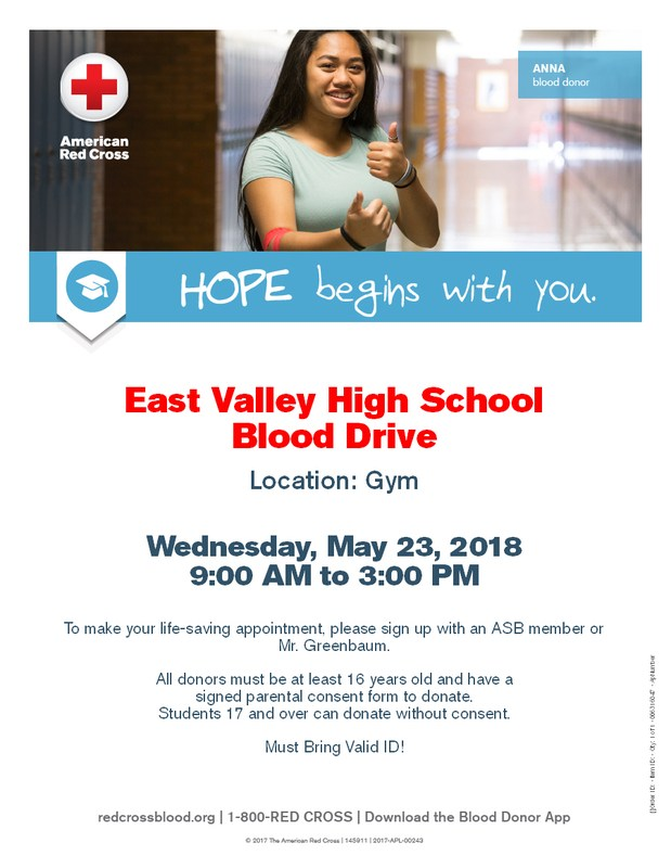 BLOOD DRIVE 05/23/18 Featured Photo