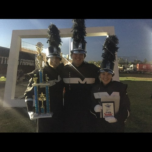 Madison Drum Majors at the Kettering Classic Band Competition (2017)