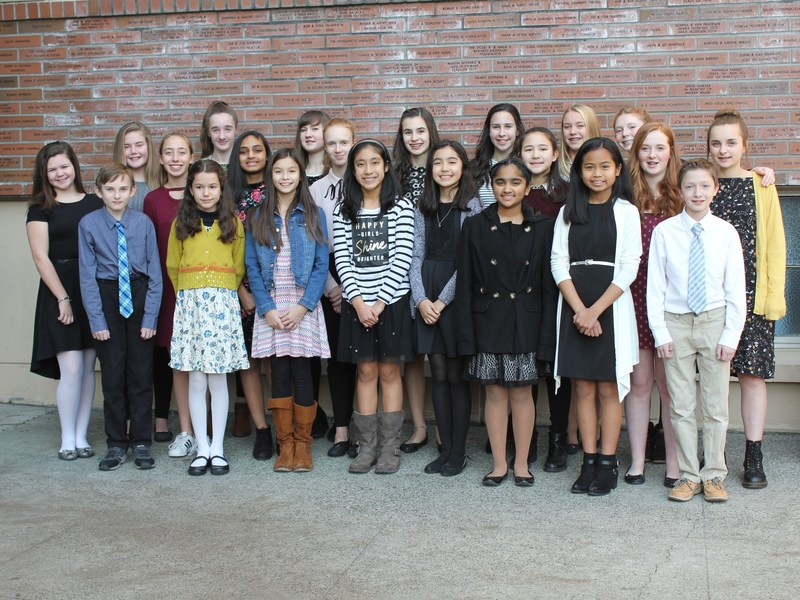 ST. LOUISE SPEECH TEAM WINS 1ST PLACE AT BISHOP BLANCHET TOURNAMENT Featured Photo