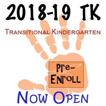 TK Pre-Enrollment