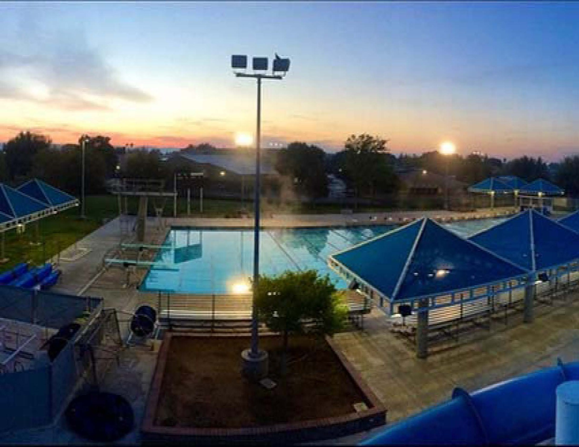 Picture of aquatics complex