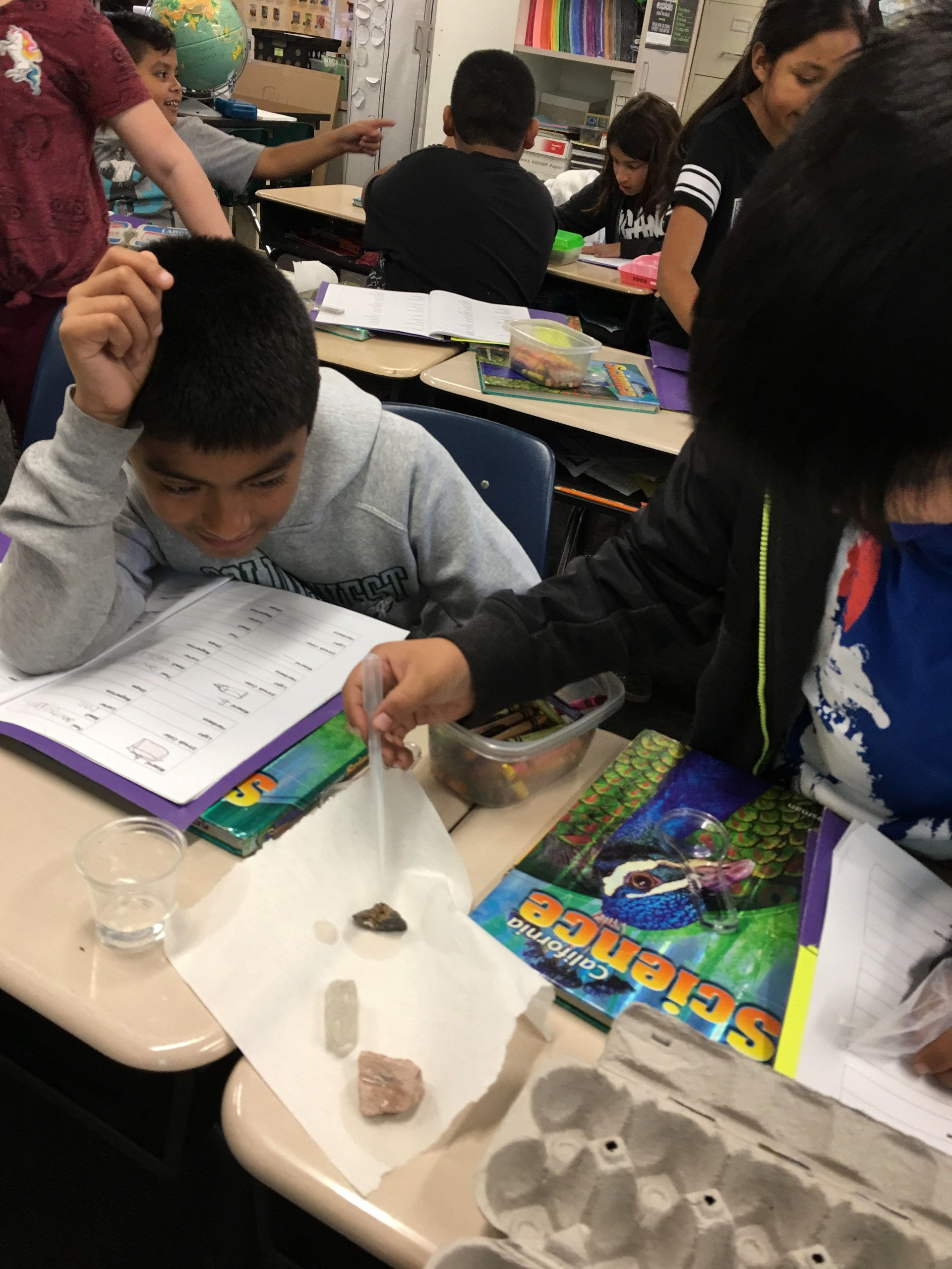 Observing & Classifying Rocks and Minerals