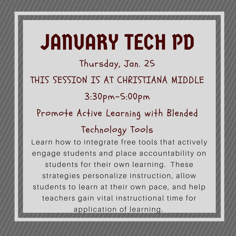 Instructional Technology Christina Tibbs Eagleville School