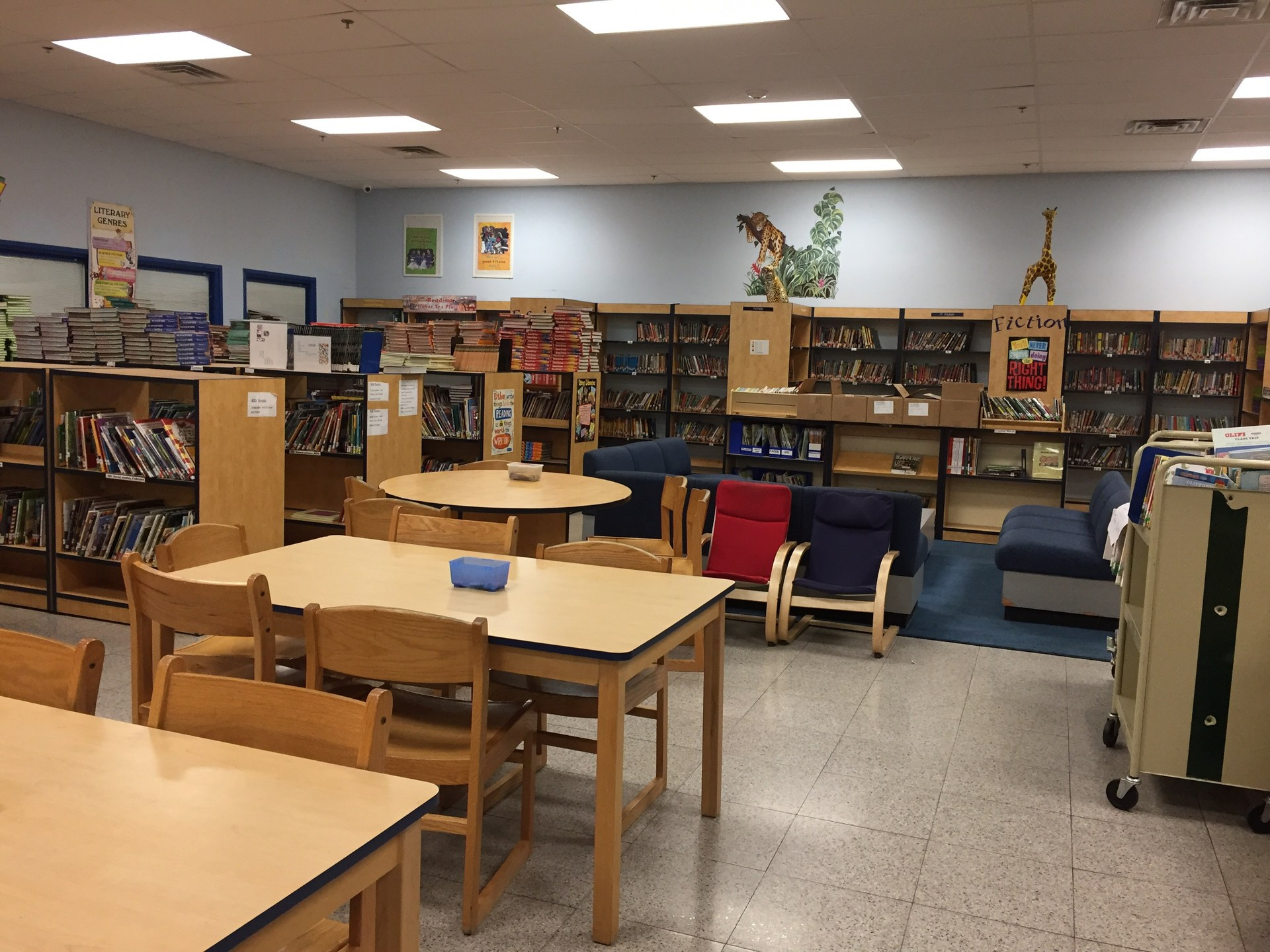PCSST 2-6 school library