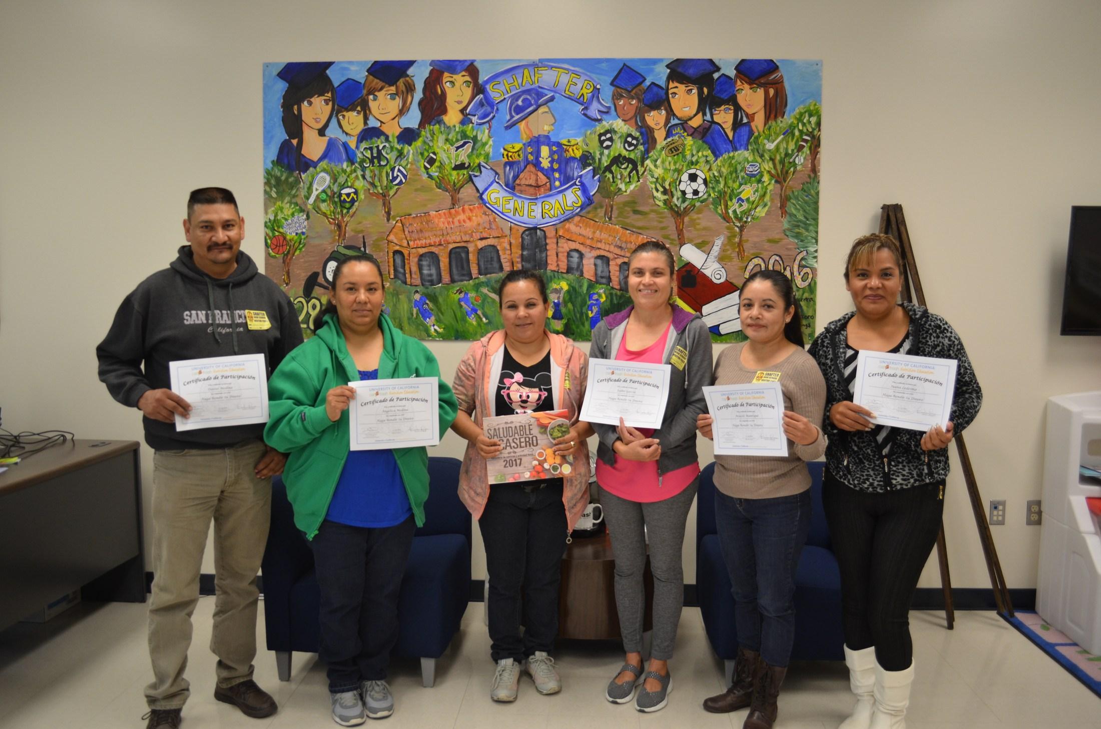 Shafter Health class graduates