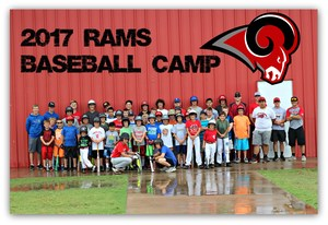 2017 Ram Baseball Camp Participants
