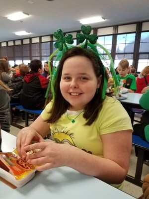 St. Patrick's Day at BU Middle
