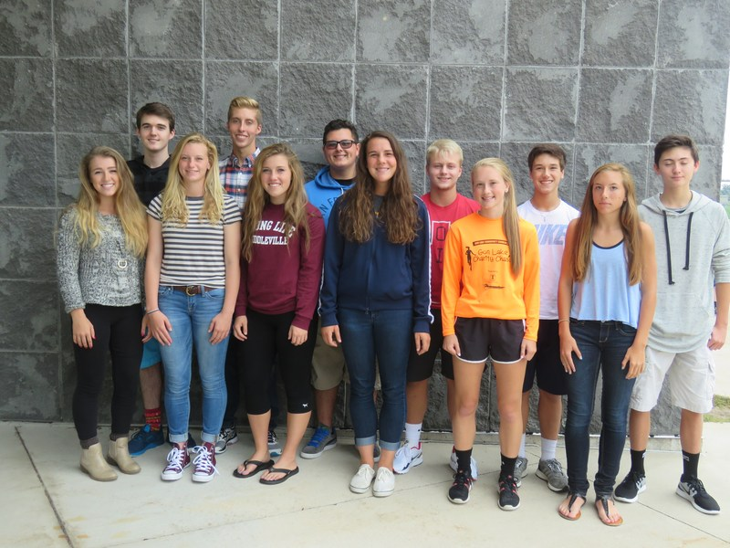 TKHS 2016 Homecoming Court