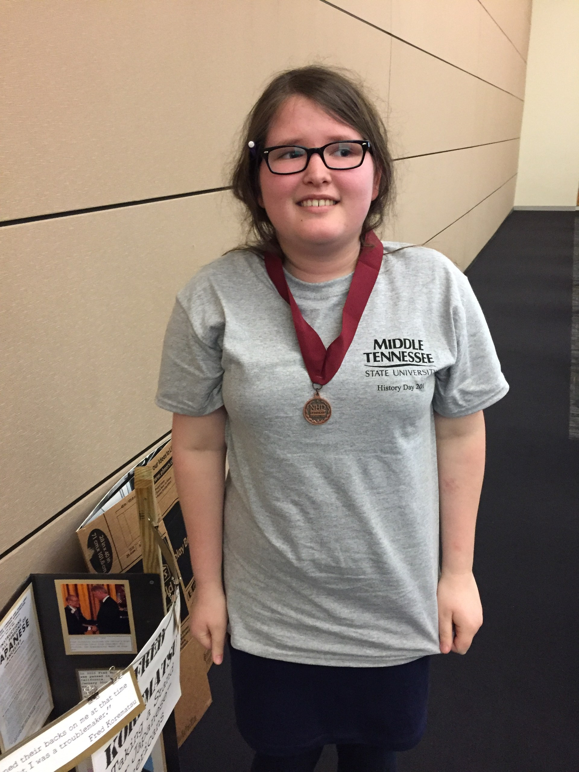 NHD 2017 medalist