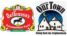 DelGrosso Amusement Logo and Operation Our Town Logo