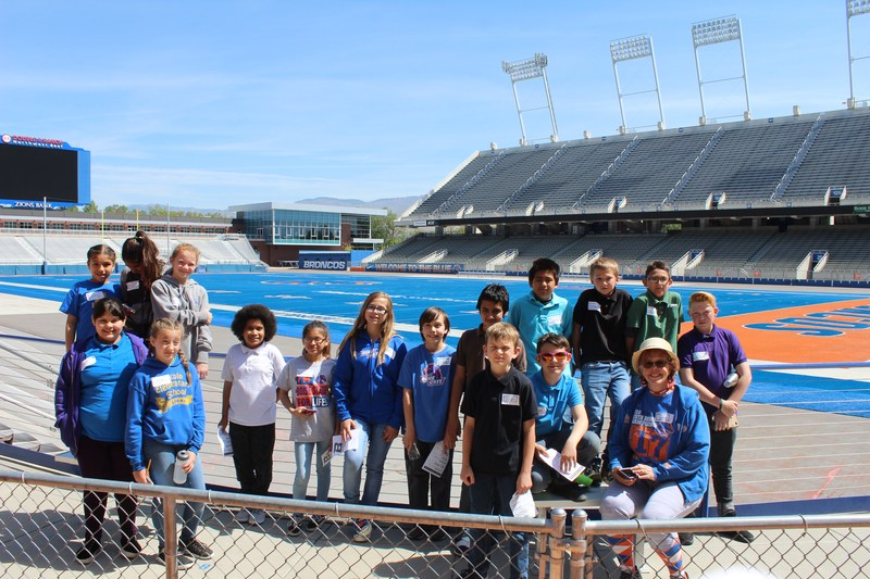 Lincoln 5th graders visited Boise State University! Thumbnail Image