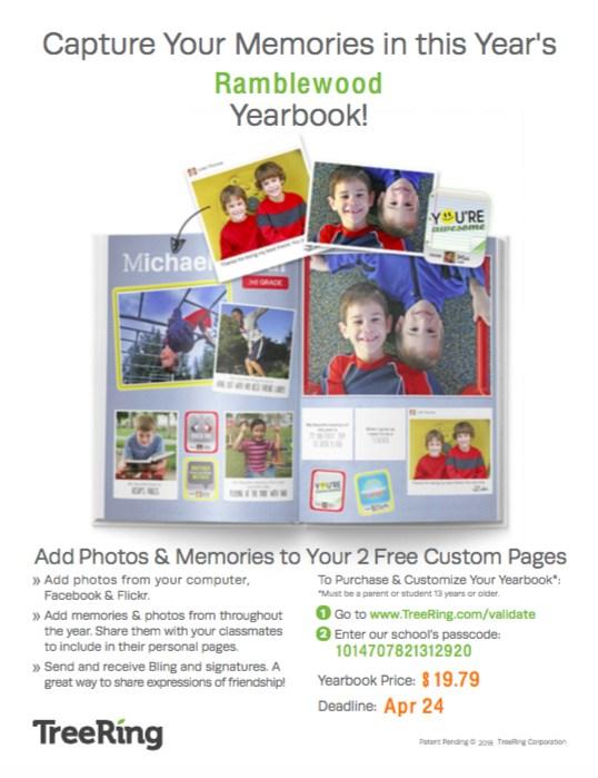 Ramblewood Customized Yearbooks