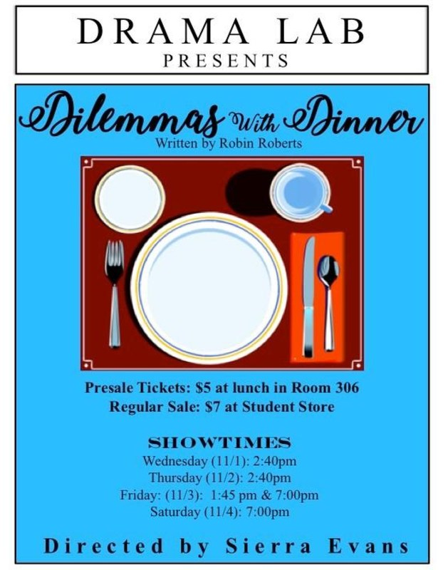 Drama Lab presents: Dilemmas With Dinner Thumbnail Image