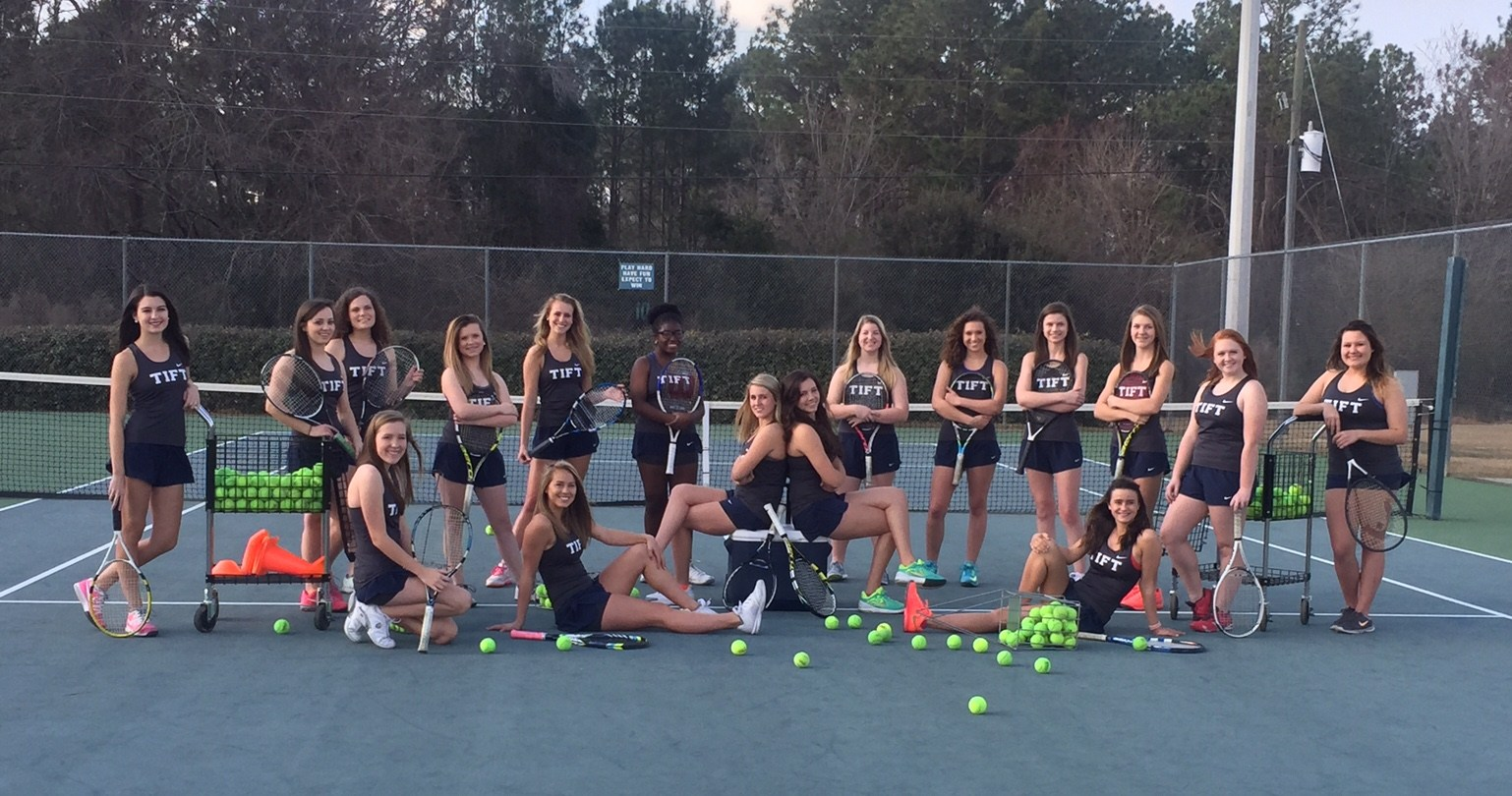 2016 girls tennis team