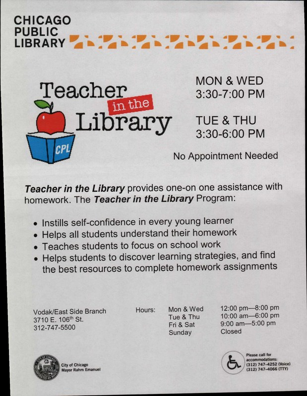 Teacher in the Library Thumbnail Image