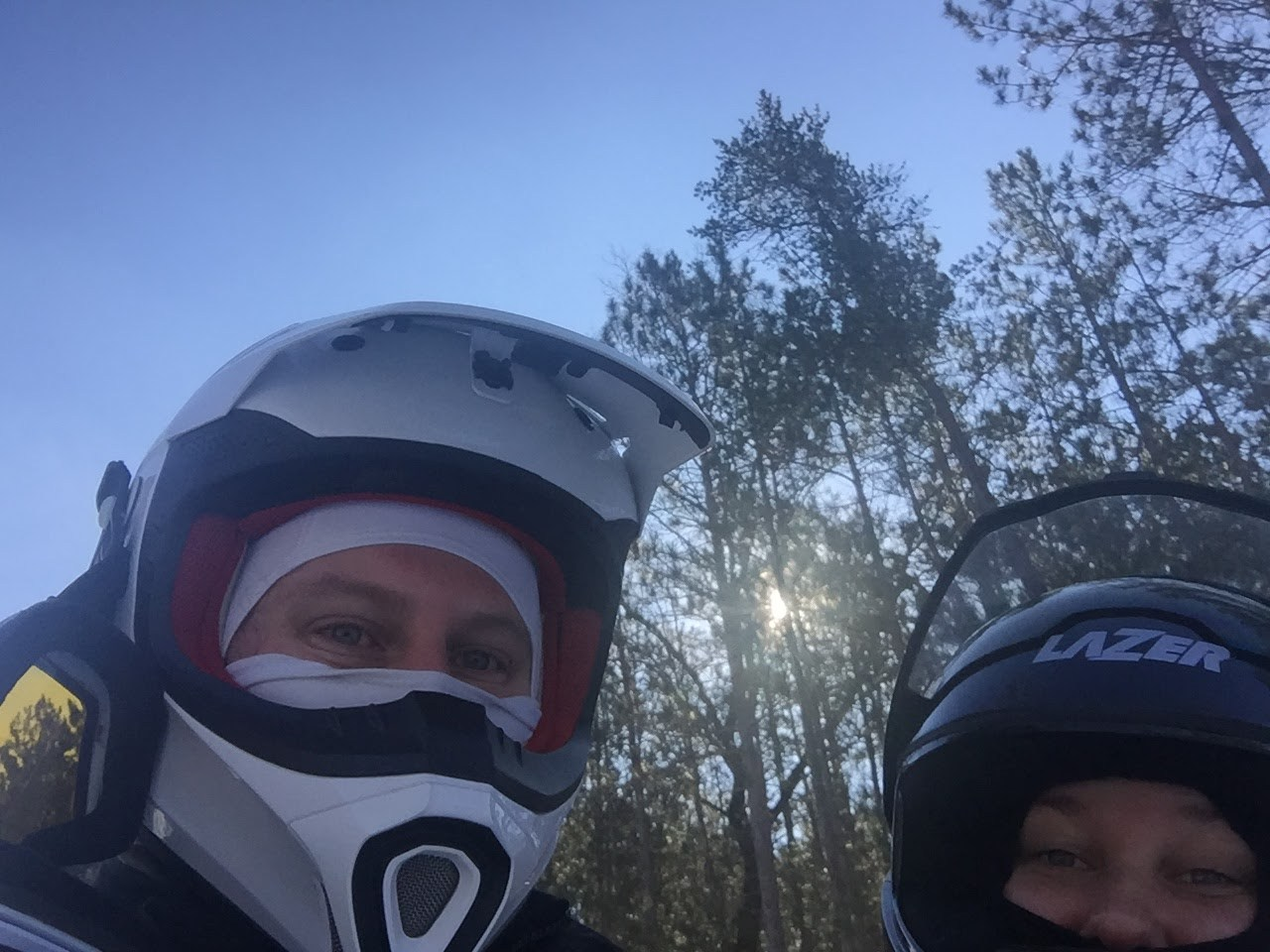 Snowmobile Selfie!