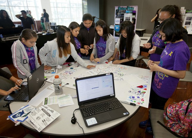 Empowering Girls to Pursue Careers in Technology: CyberGirlz Silicon Valley Event Thumbnail Image