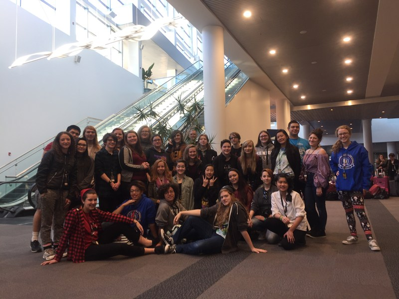 Academy Students Attend Colorado Thespian Conference Thumbnail Image