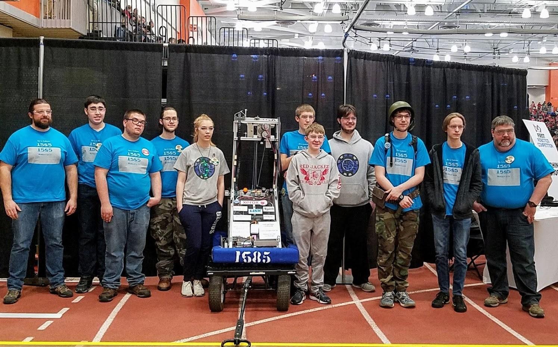 Robotics Team photo at RIT March 2018