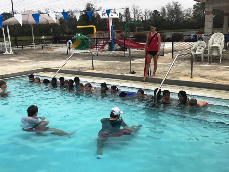 Second Graders Learn to Swim! Featured Photo