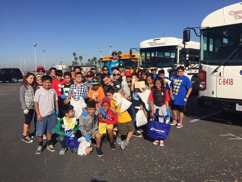 Thunderbirds Participate in Coastkeepers Coastal Cleanup Day