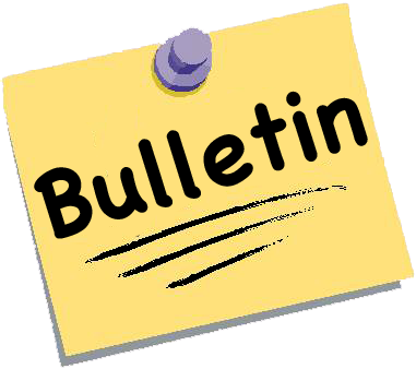March 28, 2017 School bulletin with upcoming school information.
