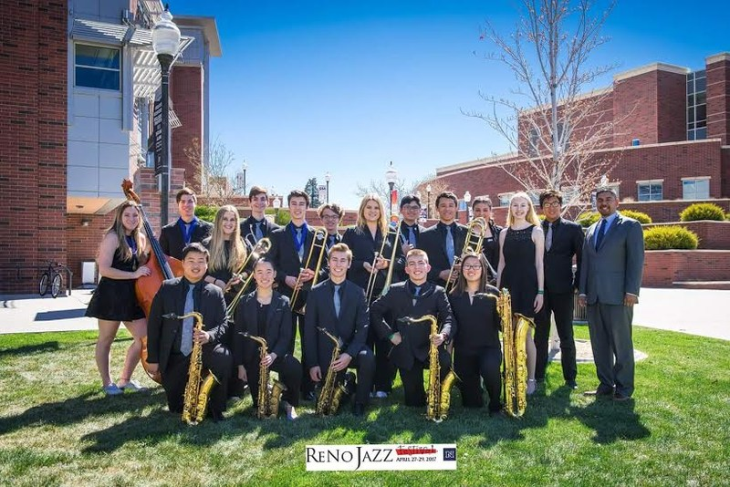 Group photo Reno Jazz Festival