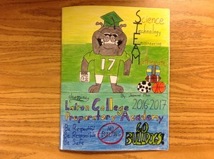 2016-2017 yearbook cover