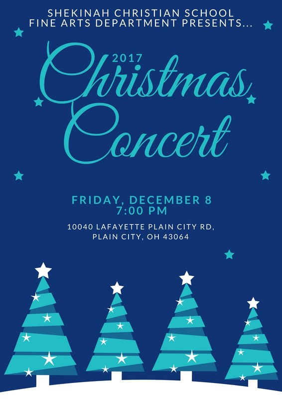 SCS Fine Arts Department presents their annual Christmas Concert - Friday, December 8, 7:00 PM Thumbnail Image