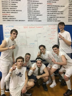 NHS Volleyball winners 2017