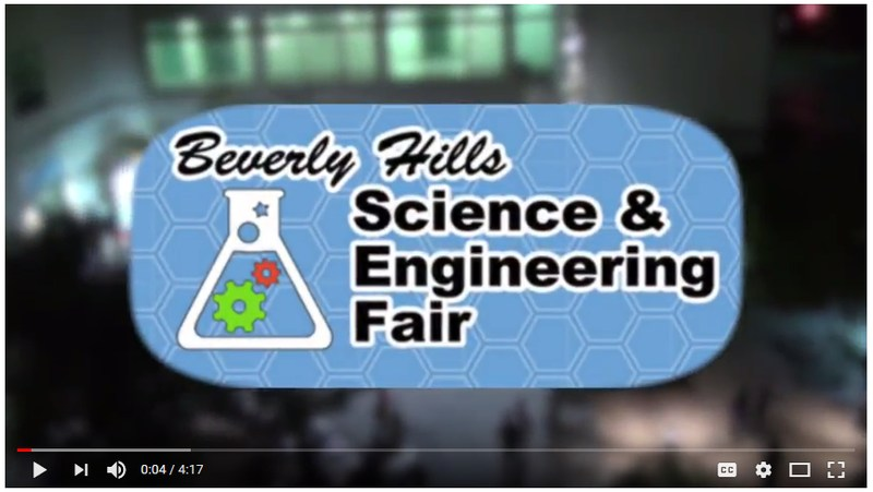 Screenshot of BHUSD Science Fair 2017 video from YouTube.