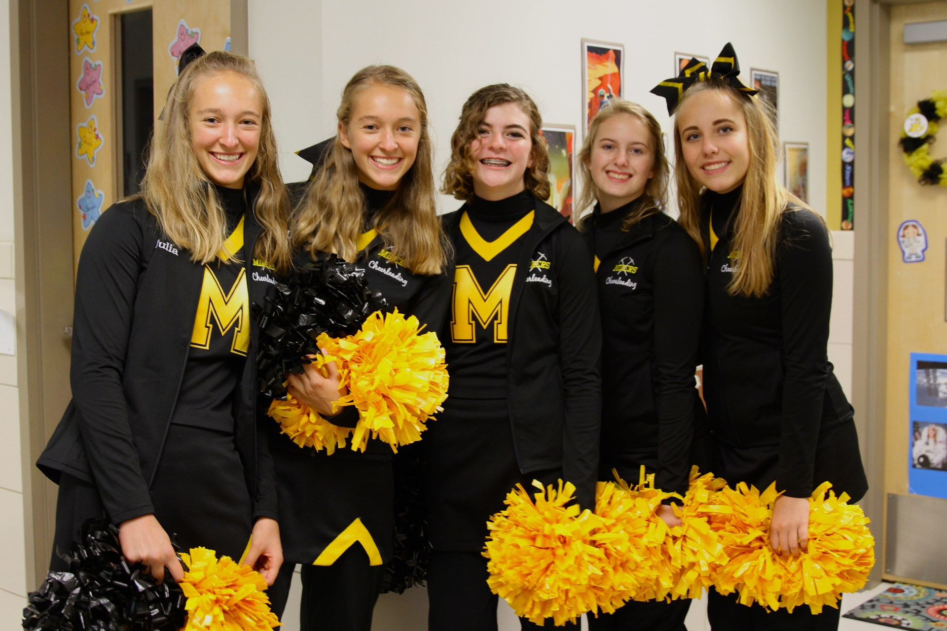 PRA Cheerleaders