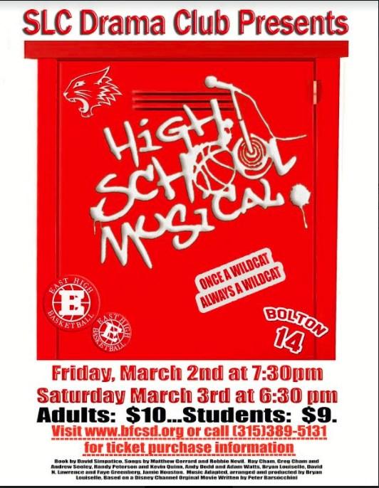 SLC Drama Club Presents : High School Musical Thumbnail Image