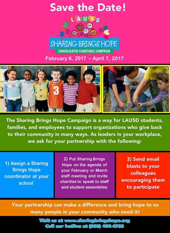 Sharing Hope Campaign Thumbnail Image