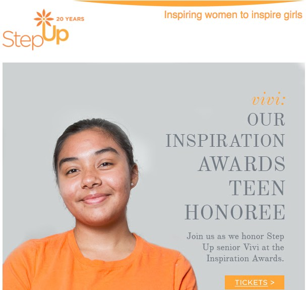 STEP UP Girl Of The Year Recipient Thumbnail Image