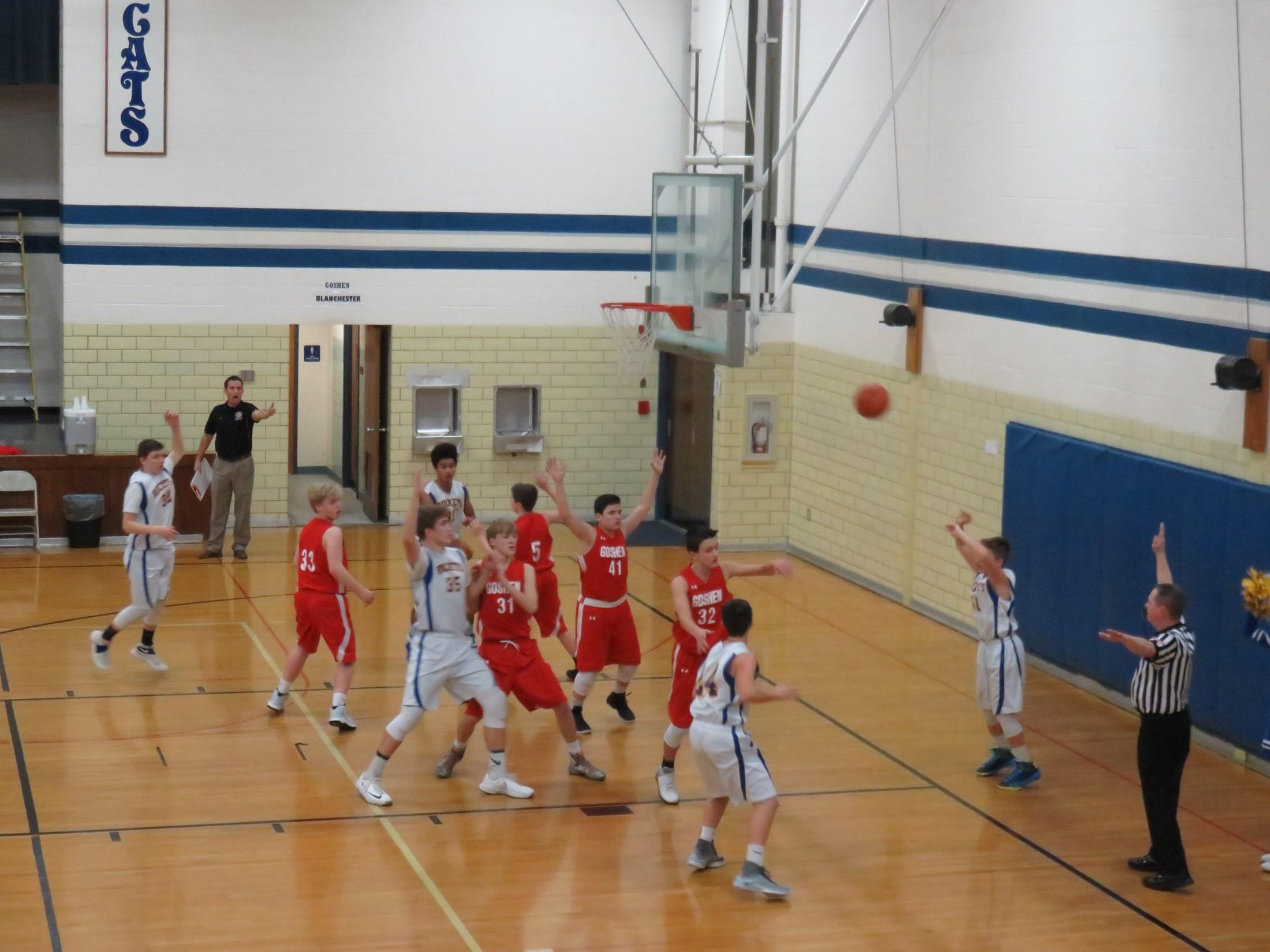 8th grade boys basketball players
