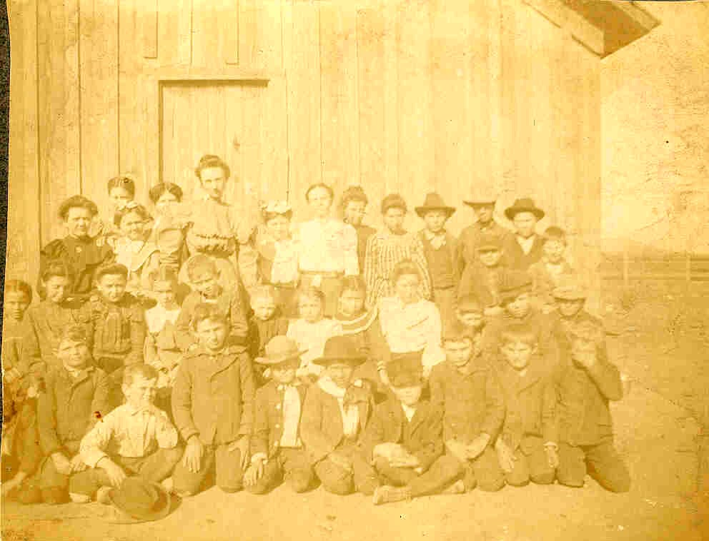 Grape Creek School circa. 1906