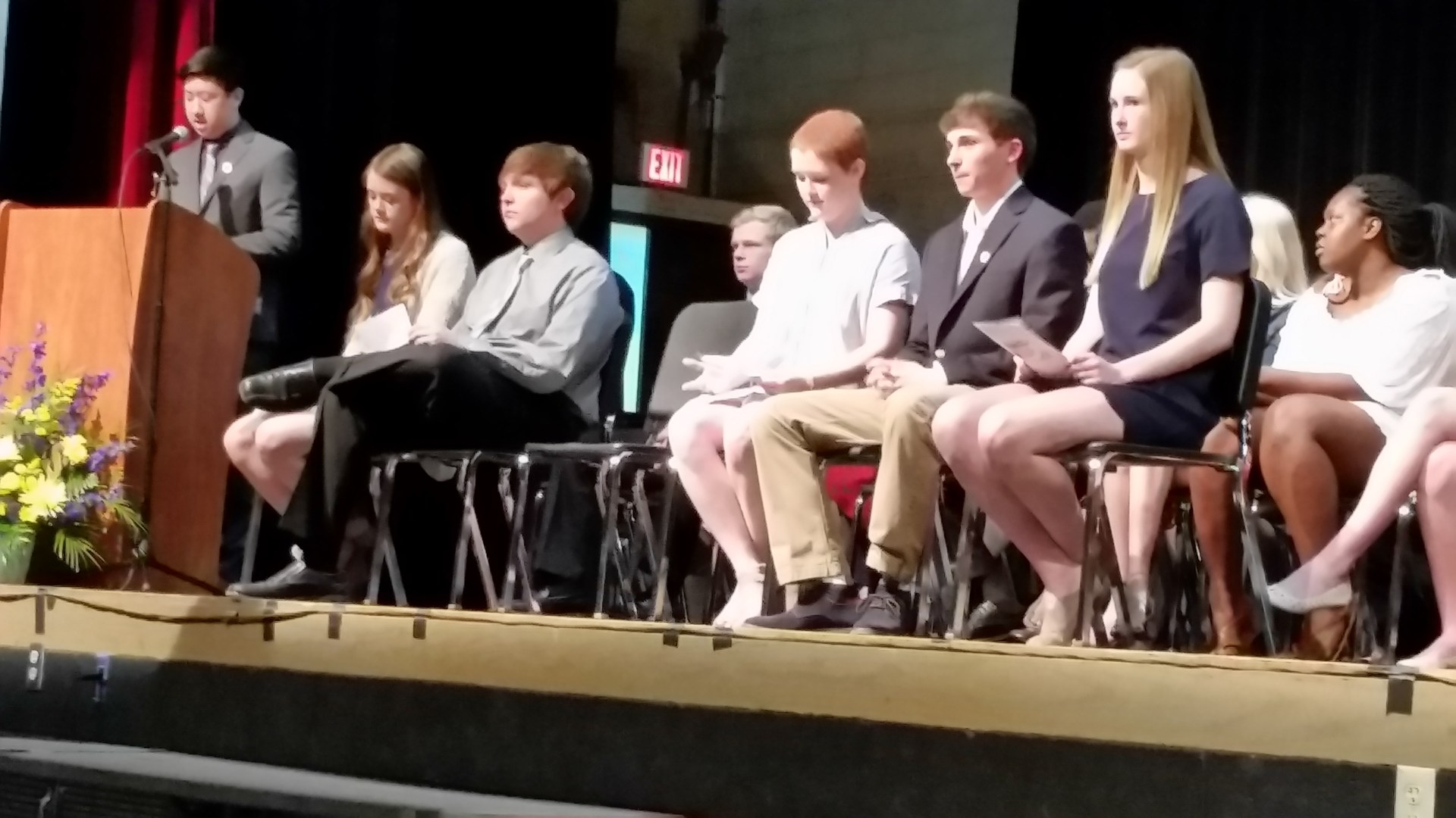 MHS National Honor Society Induction