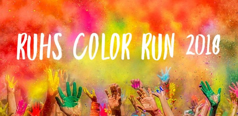 RUHS Color Run 2018 Featured Photo