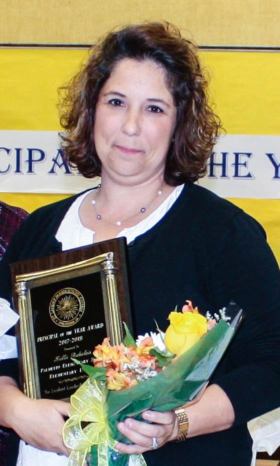 principal of the year Kelli Rabilais
